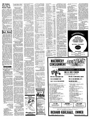 Kossuth County Advance from Algona, Iowa on March 1, 1971 · Page 10