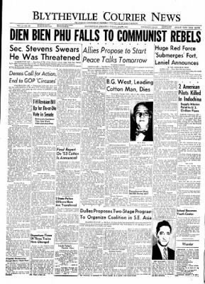 The Courier News from Blytheville, Arkansas on May 7, 1954 · Page 1