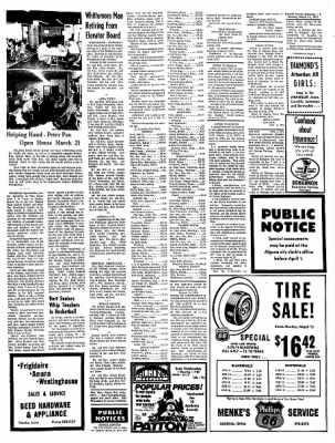 Kossuth County Advance from Algona, Iowa on March 15, 1971 · Page 12
