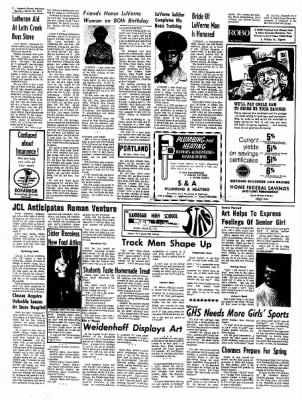 Kossuth County Advance from Algona, Iowa on March 29, 1971 · Page 12