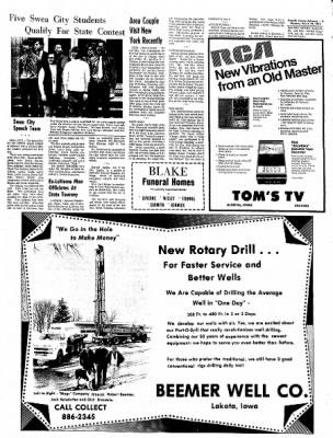 Kossuth County Advance from Algona, Iowa on March 29, 1971 · Page 13