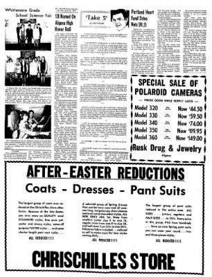 Kossuth County Advance from Algona, Iowa on April 12, 1971 · Page 16