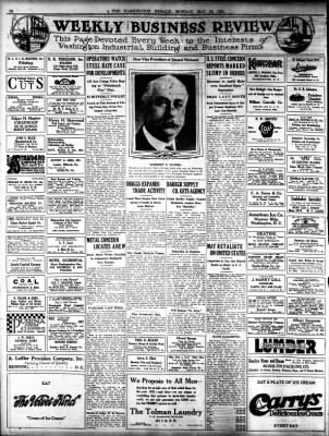 The Washington Herald From District Of Columbia On May 16 1921 Page 10