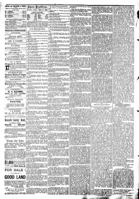 The Algona Republican from Algona, Iowa on September 3, 1890 · Page 4