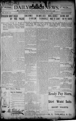 The Daily News from Mount Carmel, Pennsylvania on July 2, 1902 · Page 1
