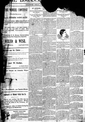 Logansport Pharos-Tribune from Logansport, Indiana on August 19, 1896 · Page 1