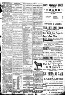 The Algona Republican from Algona, Iowa on September 10, 1890 · Page 5