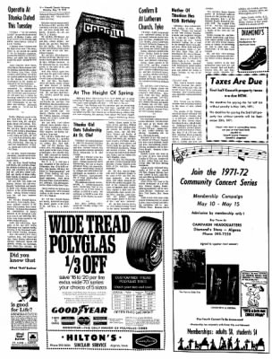 Kossuth County Advance from Algona, Iowa on May 10, 1971 · Page 8