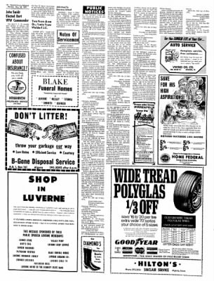 Kossuth County Advance from Algona, Iowa on May 24, 1971 · Page 10