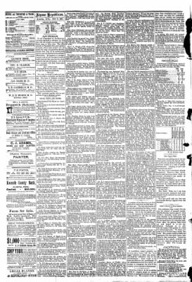 The Algona Republican from Algona, Iowa on October 8, 1890 · Page 4