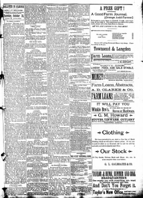 The Algona Republican from Algona, Iowa on October 22, 1890 · Page 5
