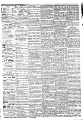 The Algona Republican from Algona, Iowa on October 29, 1890 · Page 4