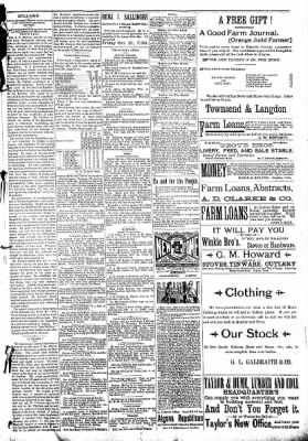 The Algona Republican from Algona, Iowa on October 29, 1890 · Page 5