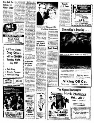 Kossuth County Advance from Algona, Iowa on July 5, 1971 · Page 4