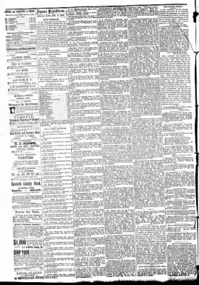 The Algona Republican from Algona, Iowa on December 3, 1890 · Page 4