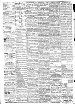 The Algona Republican from Algona, Iowa on February 4, 1891 · Page 4