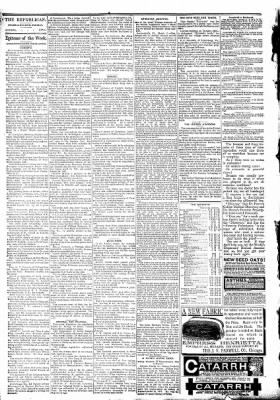 The Algona Republican from Algona, Iowa on March 18, 1891 · Page 2