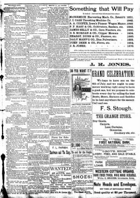 The Algona Republican from Algona, Iowa on May 13, 1891 · Page 5