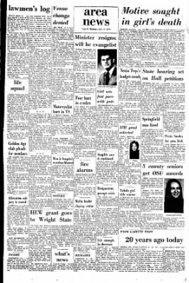 Xenia Daily Gazette from Xenia, Ohio on July 17, 1972 · Page 25