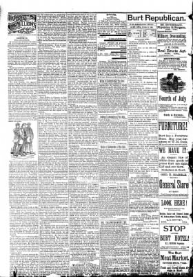 The Algona Republican from Algona, Iowa on July 1, 1891 · Page 8