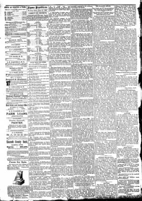 The Algona Republican from Algona, Iowa on July 15, 1891 · Page 4