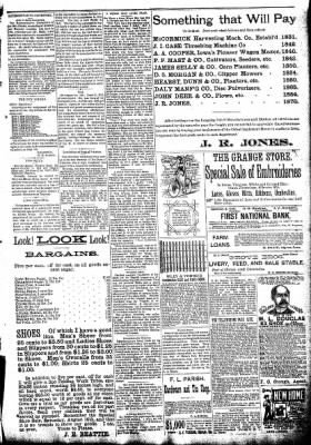 The Algona Republican from Algona, Iowa on August 5, 1891 · Page 7