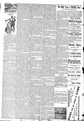 The Algona Republican from Algona, Iowa on September 2, 1891 · Page 6