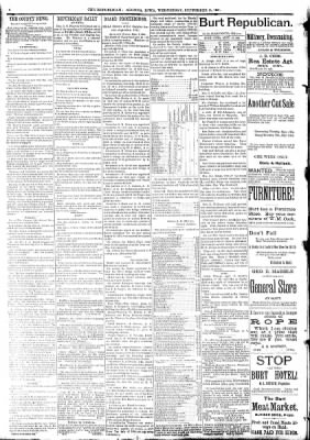 The Algona Republican from Algona, Iowa on September 16, 1891 · Page 8