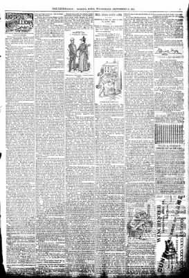 The Algona Republican from Algona, Iowa on September 23, 1891 · Page 3