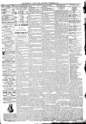 The Algona Republican from Algona, Iowa on September 30, 1891 · Page 4