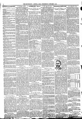 The Algona Republican from Algona, Iowa on October 7, 1891 · Page 2