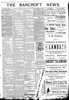 The Algona Republican from Algona, Iowa on October 7, 1891 · Page 3