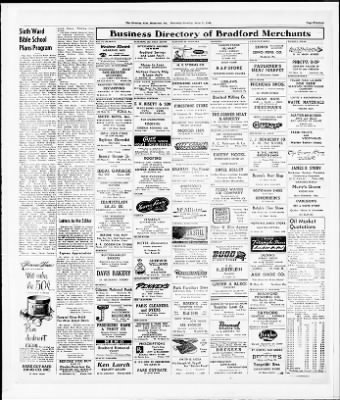 Bradford evening star and the bradford daily record from bradford bradford evening star and the bradford daily record from bradford pennsylvania on june 27 1946 page 13 solutioingenieria Choice Image