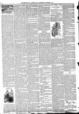 The Algona Republican from Algona, Iowa on October 7, 1891 · Page 9