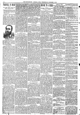 The Algona Republican from Algona, Iowa on October 14, 1891 · Page 2