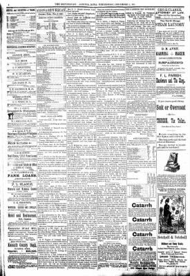 The Algona Republican from Algona, Iowa on December 2, 1891 · Page 4
