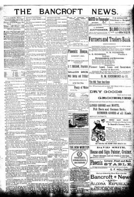 The Algona Republican from Algona, Iowa on January 13, 1892 · Page 3