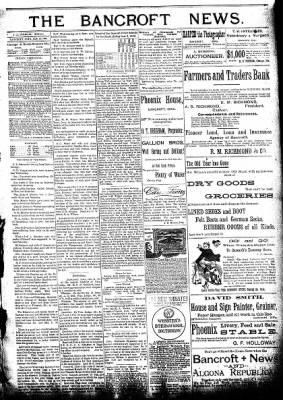 The Algona Republican from Algona, Iowa on January 20, 1892 · Page 3