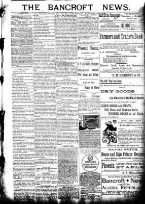 The Algona Republican from Algona, Iowa on January 27, 1892 · Page 3