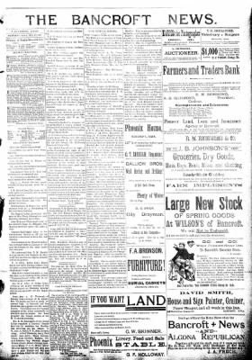 The Algona Republican from Algona, Iowa on February 17, 1892 · Page 3