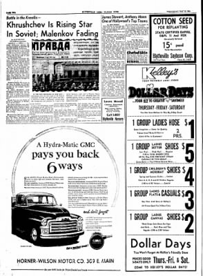 The Courier News from Blytheville, Arkansas on May 12, 1954 · Page 2