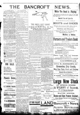 The Algona Republican from Algona, Iowa on March 9, 1892 · Page 3