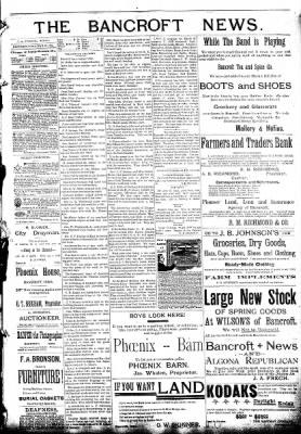 The Algona Republican from Algona, Iowa on March 23, 1892 · Page 3