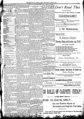 The Algona Republican from Algona, Iowa on April 20, 1892 · Page 5