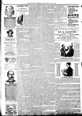 The Algona Republican from Algona, Iowa on May 4, 1892 · Page 6