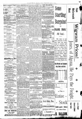 The Algona Republican from Algona, Iowa on May 25, 1892 · Page 4