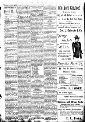 The Algona Republican from Algona, Iowa on May 25, 1892 · Page 5