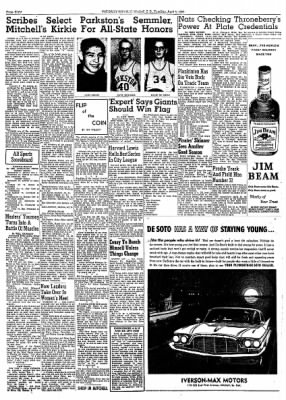 The Daily Republic from Mitchell, South Dakota on April 5, 1960 · Page 8