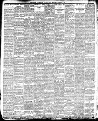 The Algona Upper Des Moines from Algona, Iowa on July 16, 1890 · Page 2