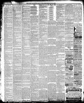 The Algona Upper Des Moines from Algona, Iowa on July 30, 1890 · Page 3